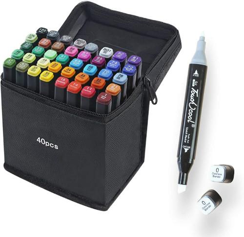 40 Colors Marker Pen Set