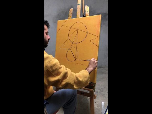 Initial Charcoal Still Life - Fernando Moreno Ruiz