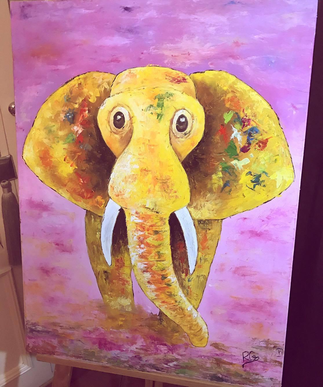 Elefante fantasía