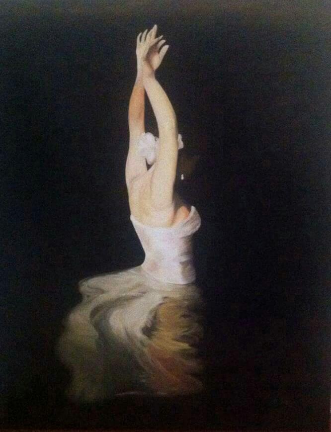 Bailarima en el agua