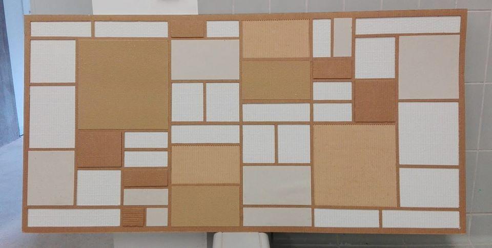 Neoplasticism in cardboard
