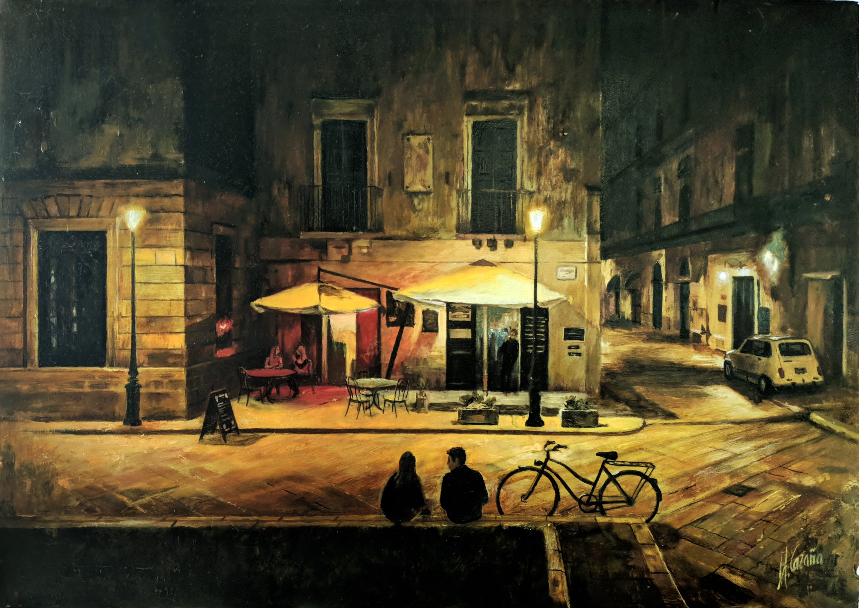 Night in Lecce, Italy. Pictures for bedrooms