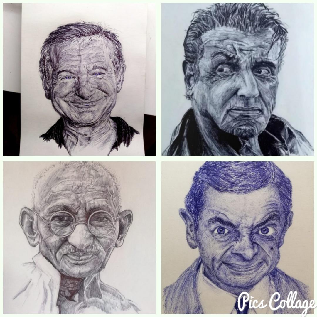 Commissioned portraits