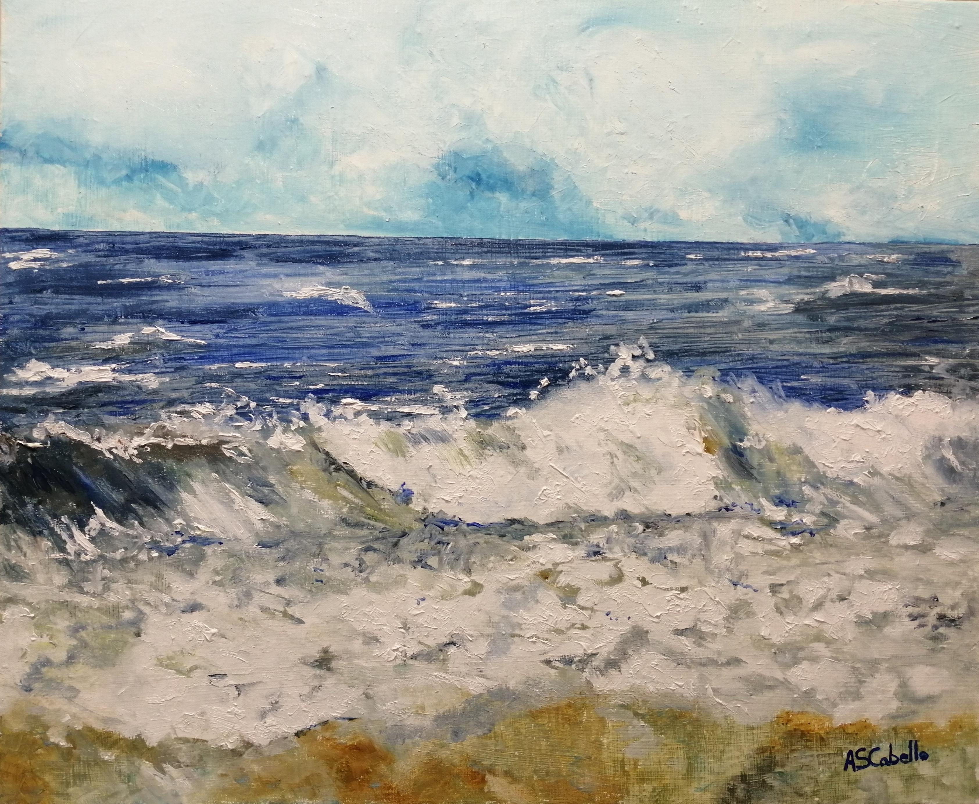 Meditacion en el mar