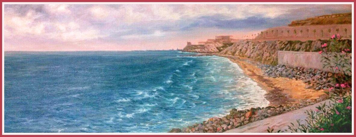 HORCAS COLORADAS BEACH. MELILLA.
