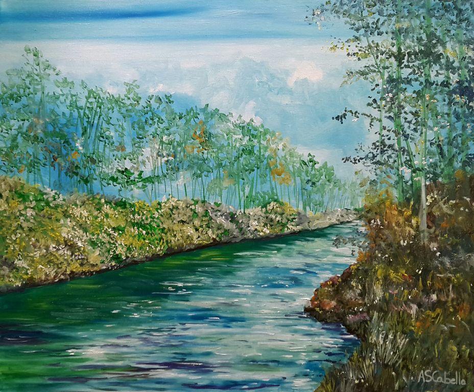 Río de truchas