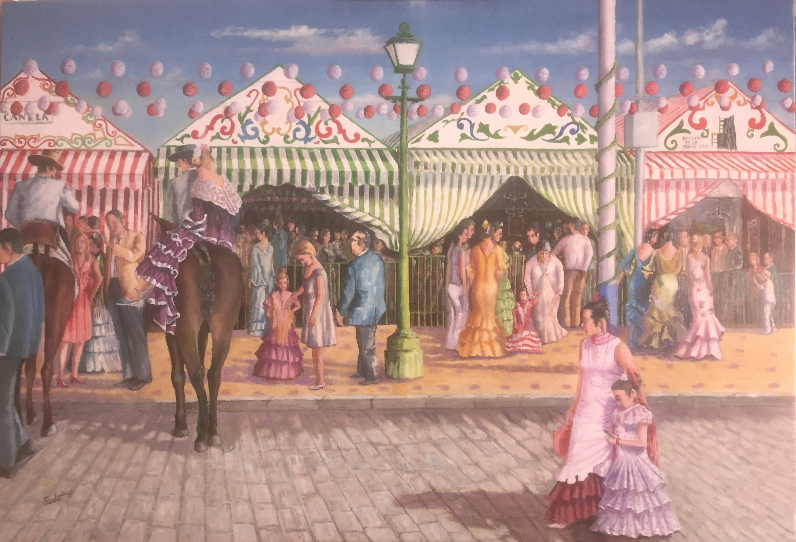 Sevilla's fair