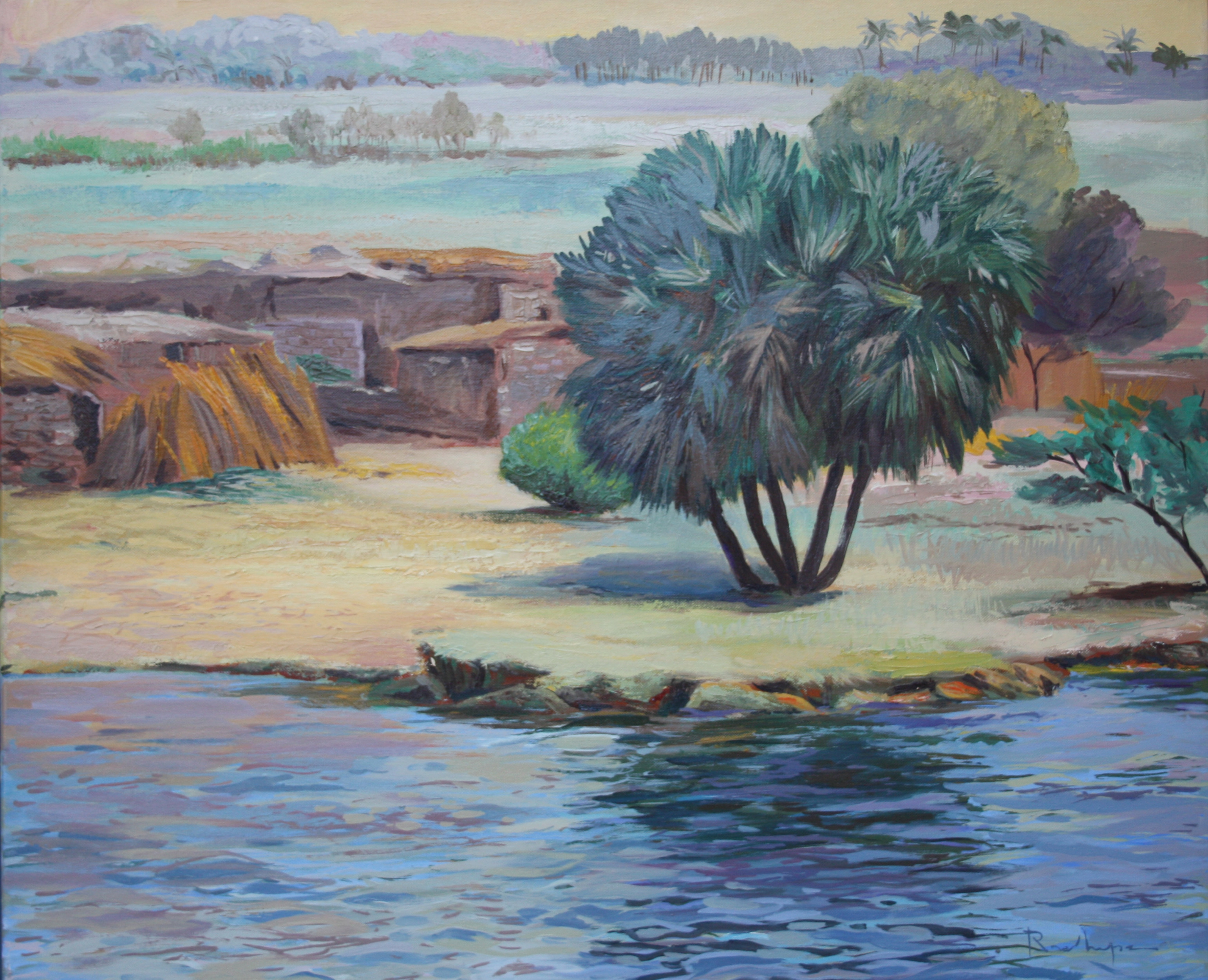 Between the Nil i the desert