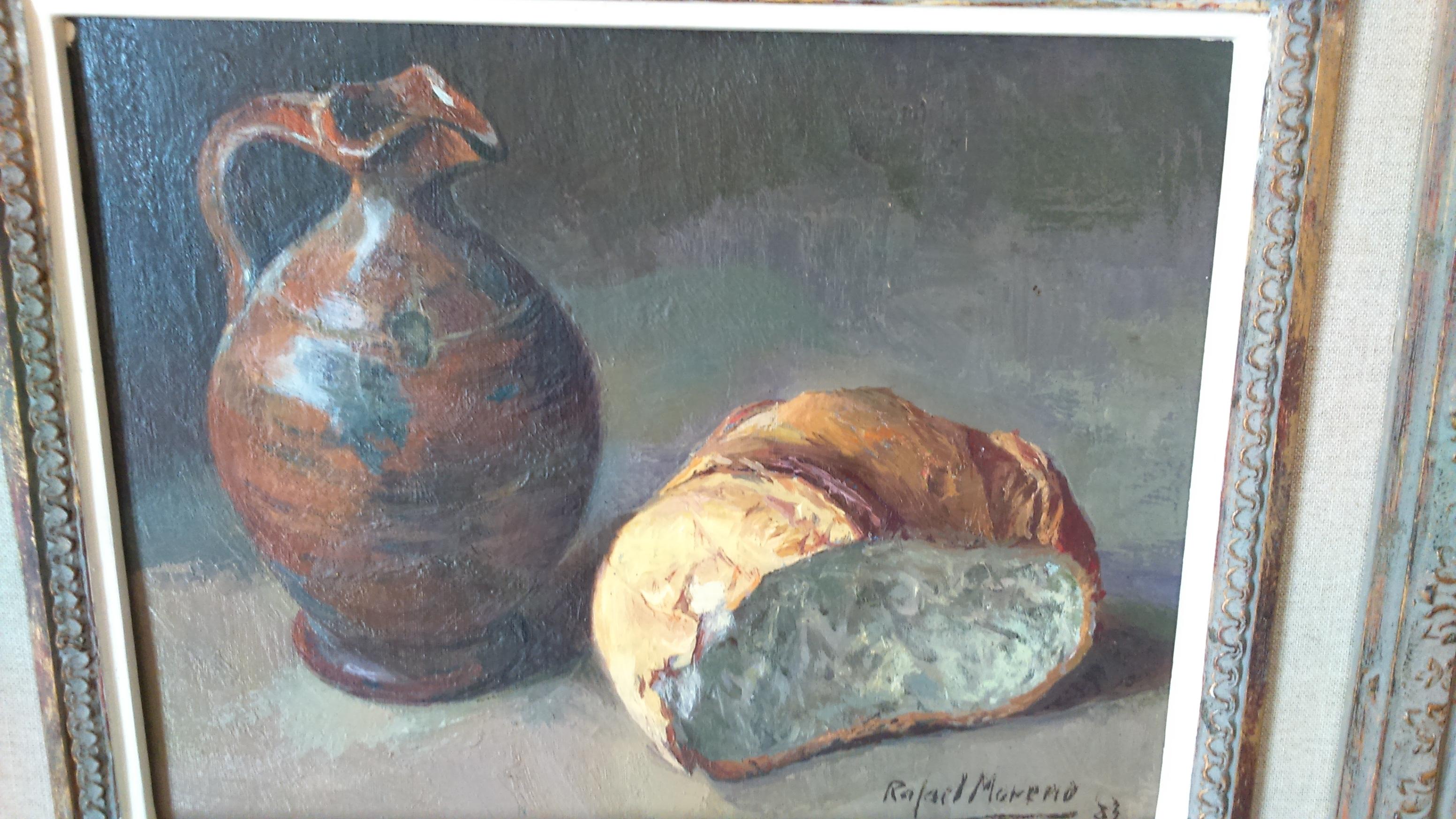 Rafael Moreno Oil on canvas