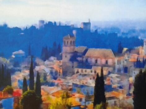Alhambra desde el cielo
