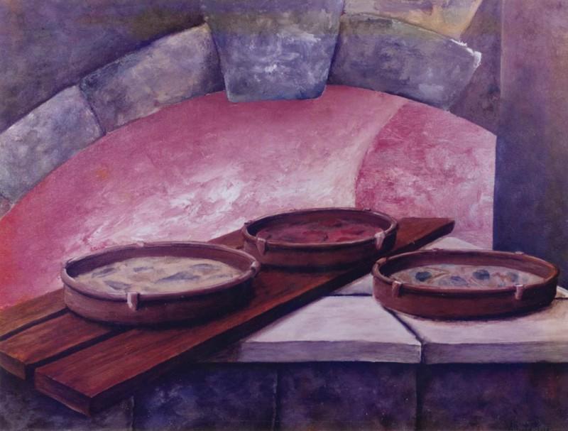 THREE PANS