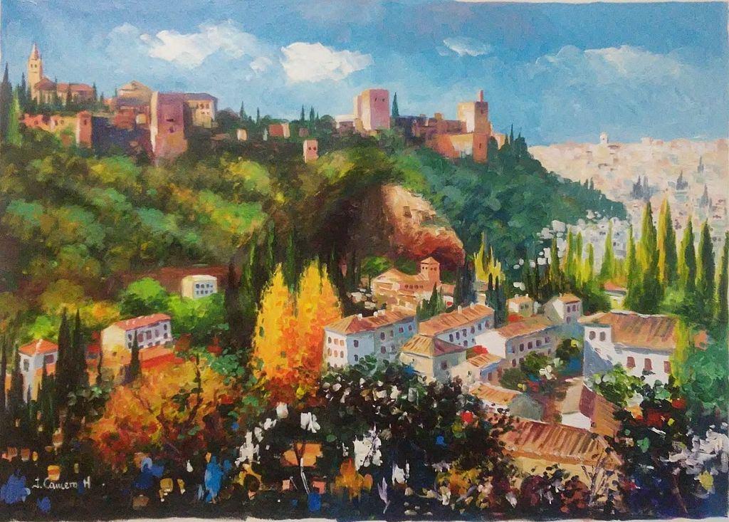 Panoramica de Granada. Alhambra