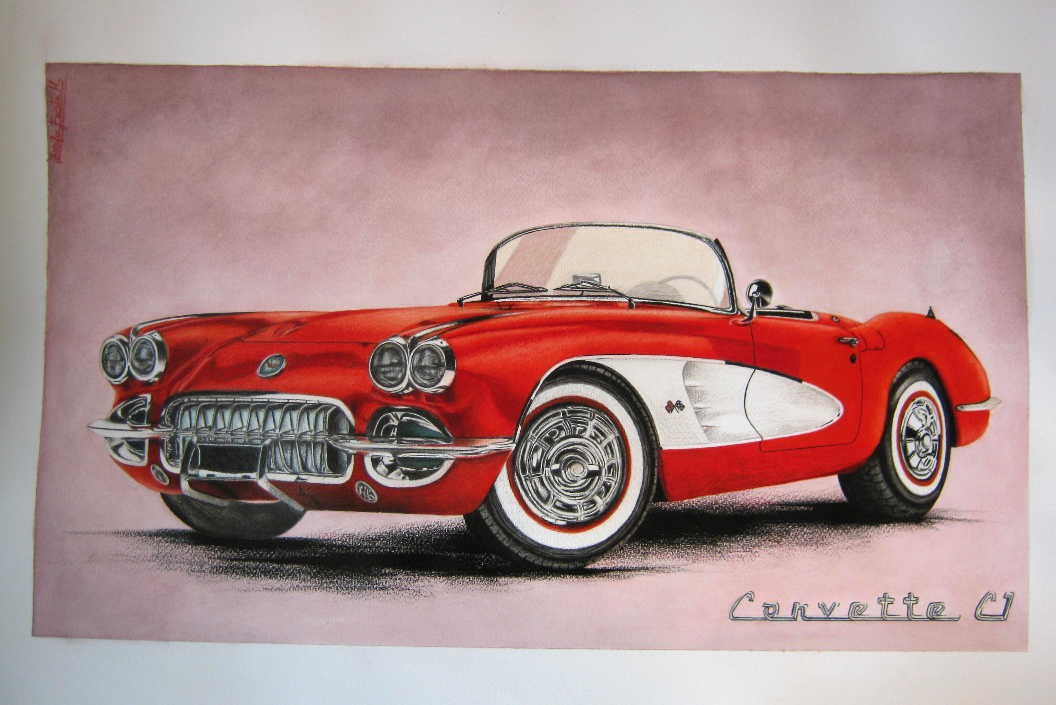 Chevrolet Corvette c1, 1958.