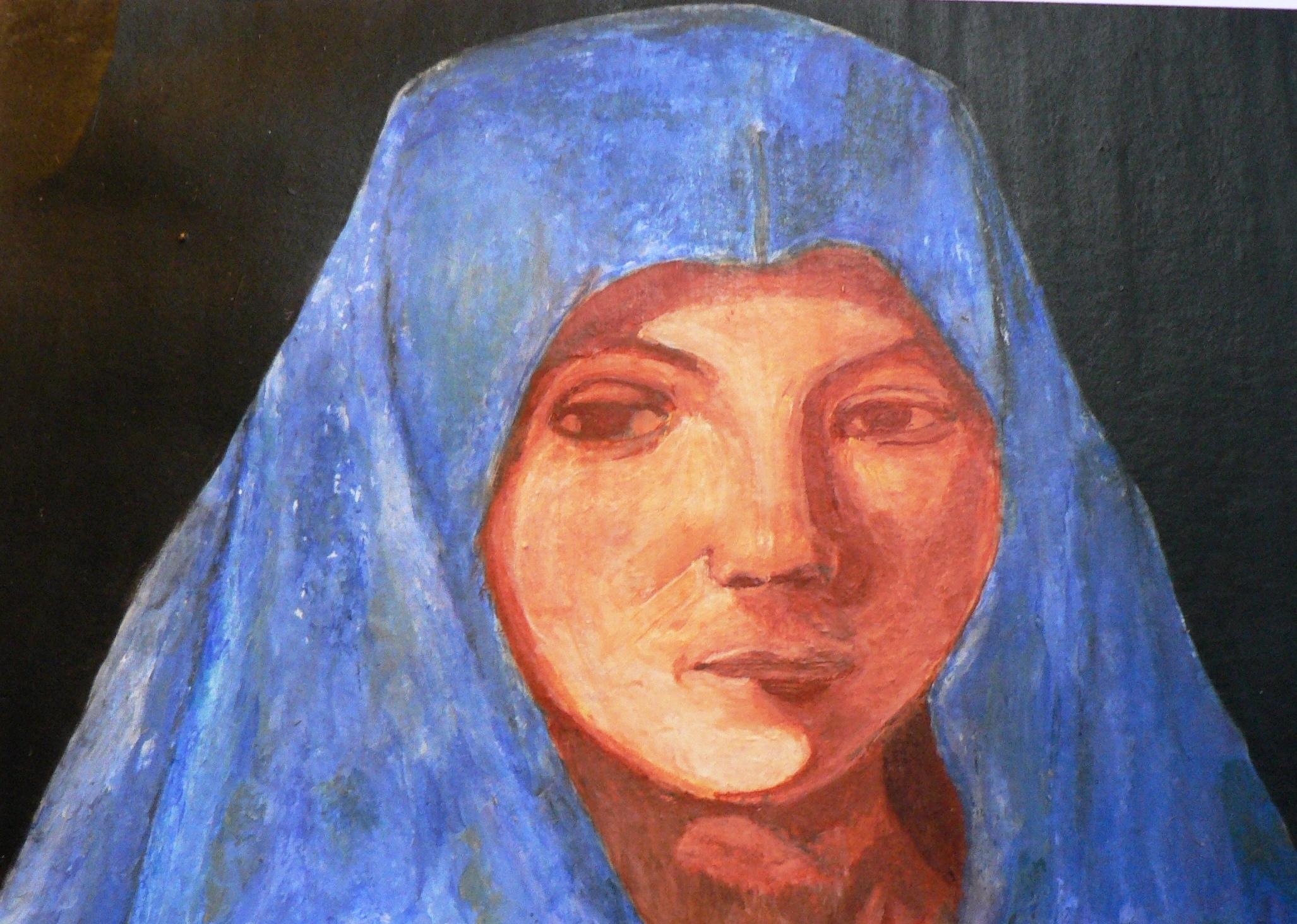retrato de virgen