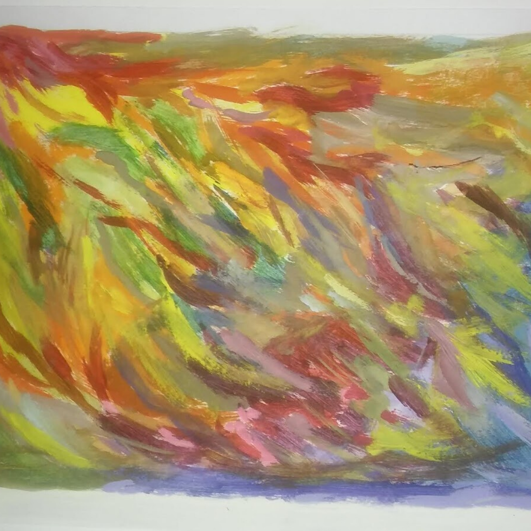 Cuadro abstracto decorativo