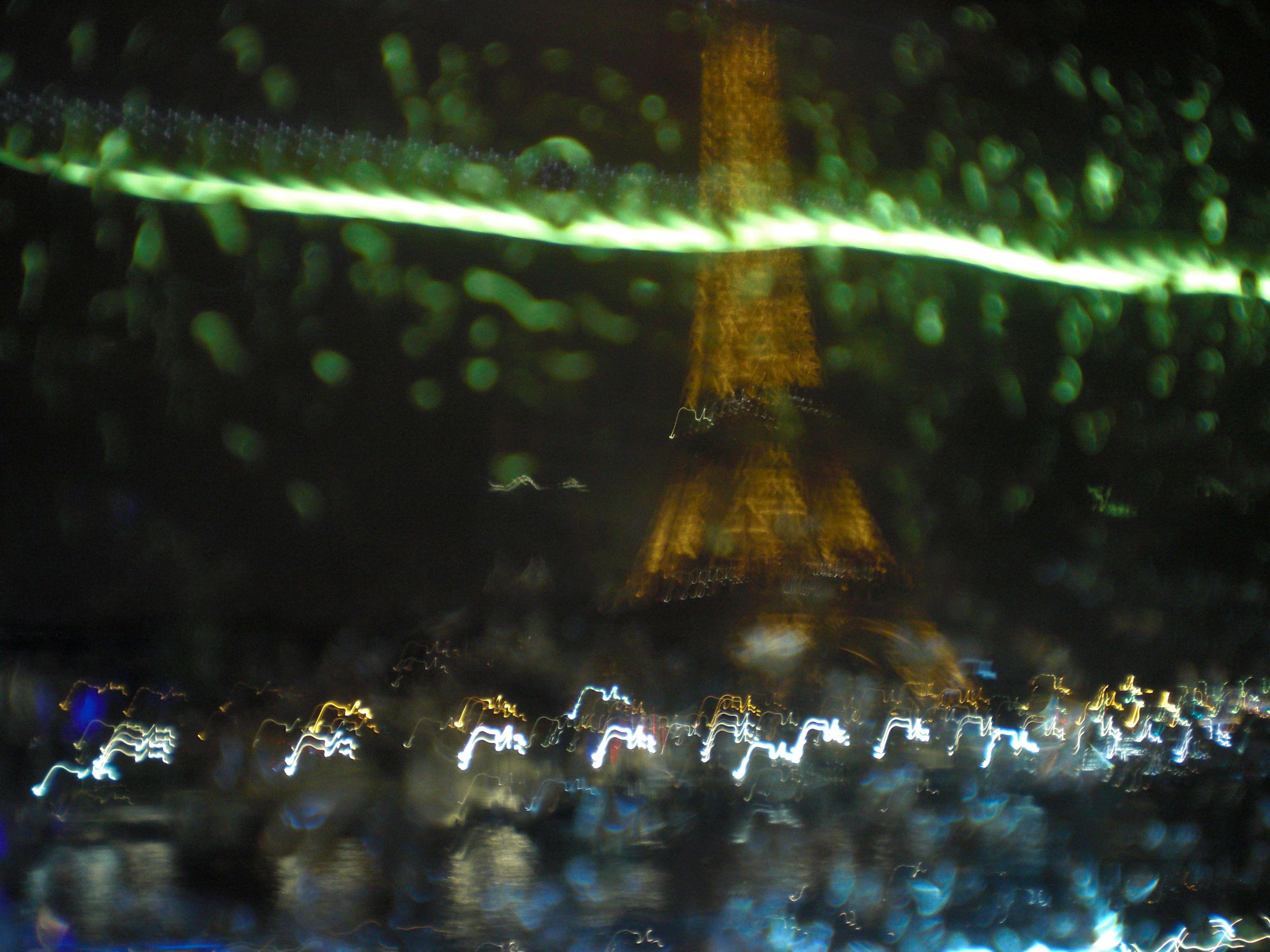 lights, rain and Paris