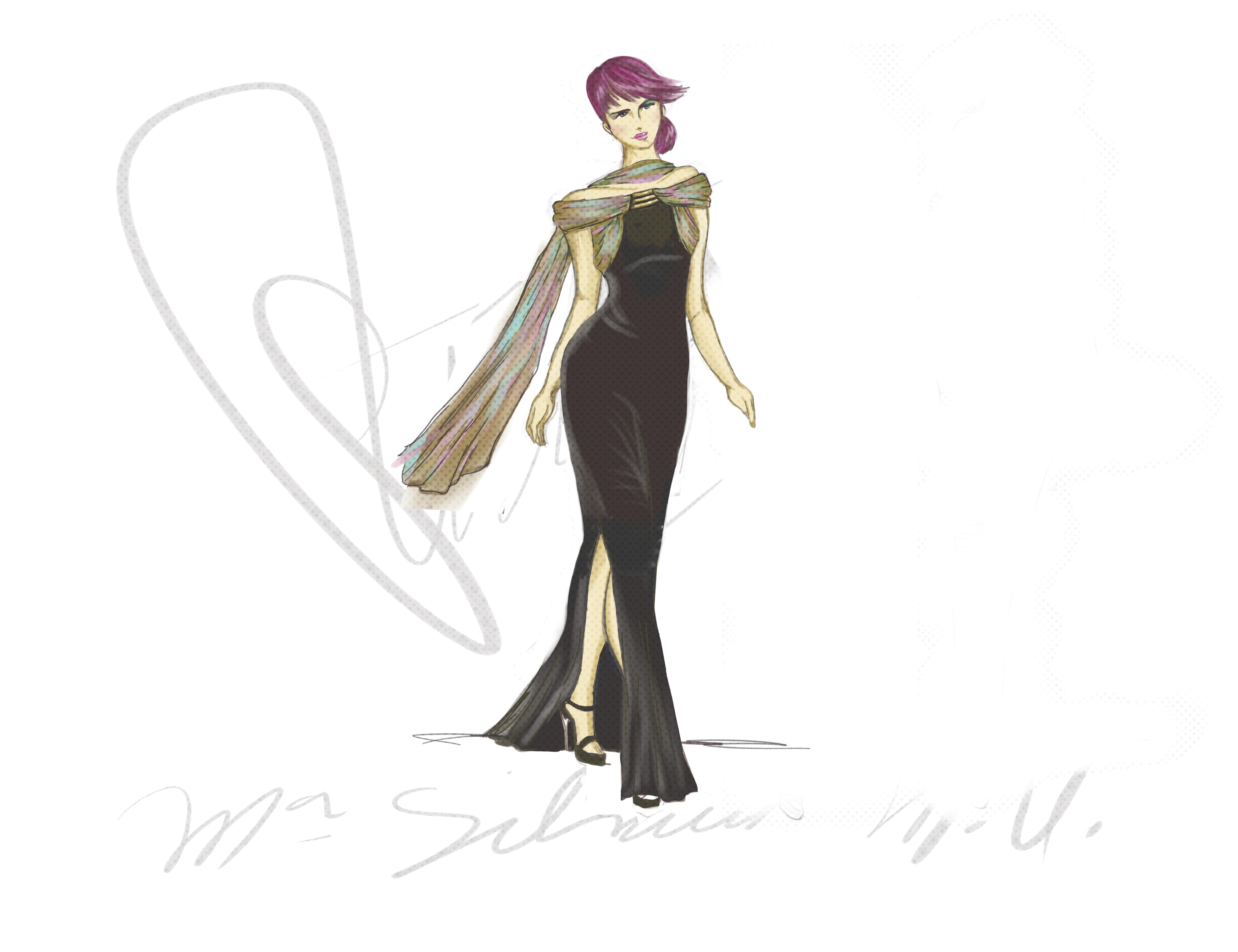 diseño vestido