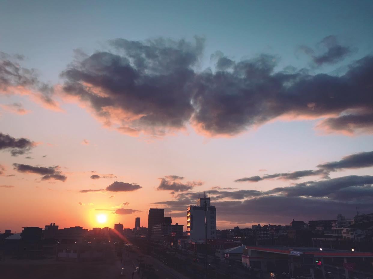 Sunset in Spain