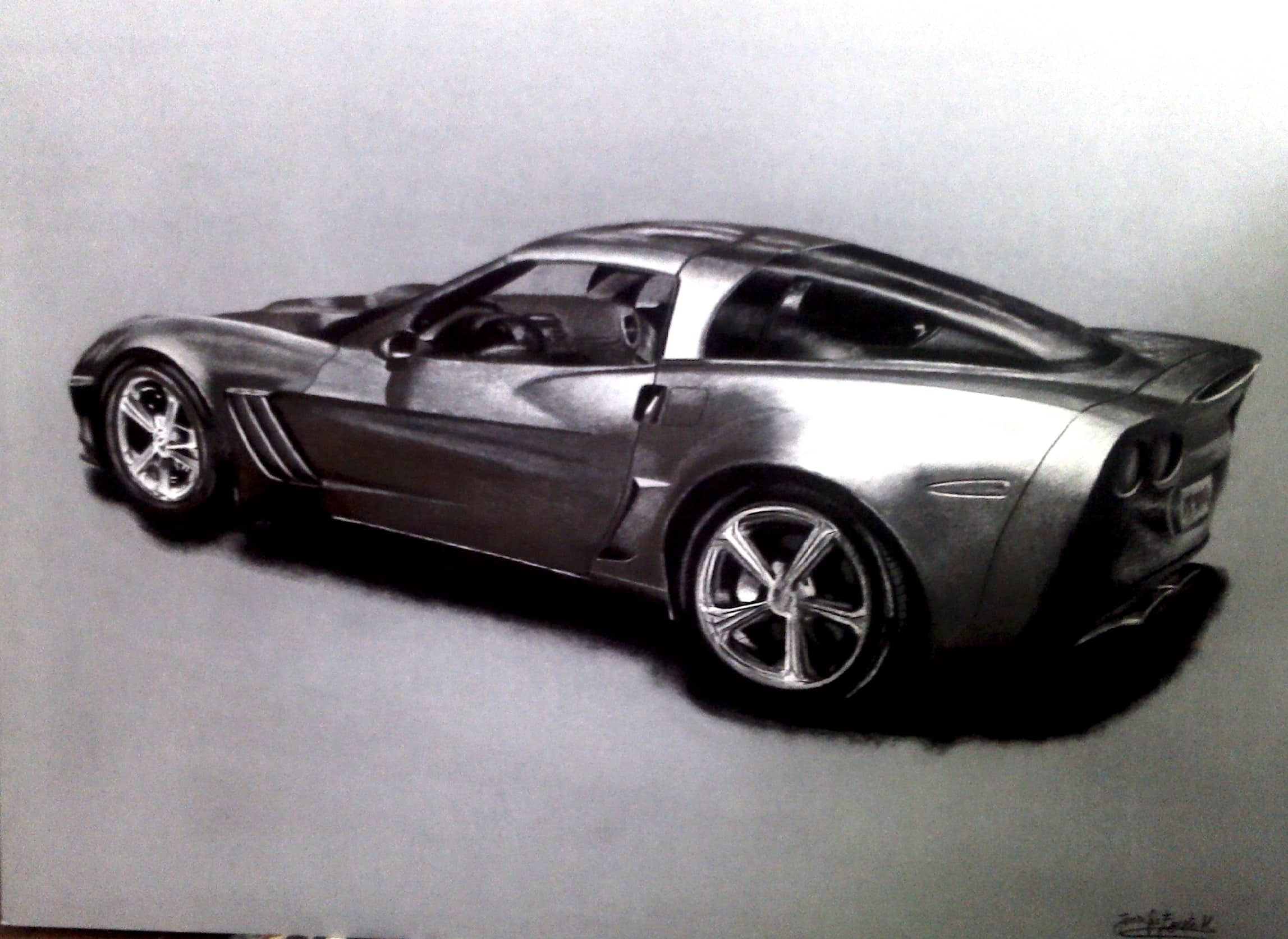 Chevrolet Corvette Grand Sport C6.