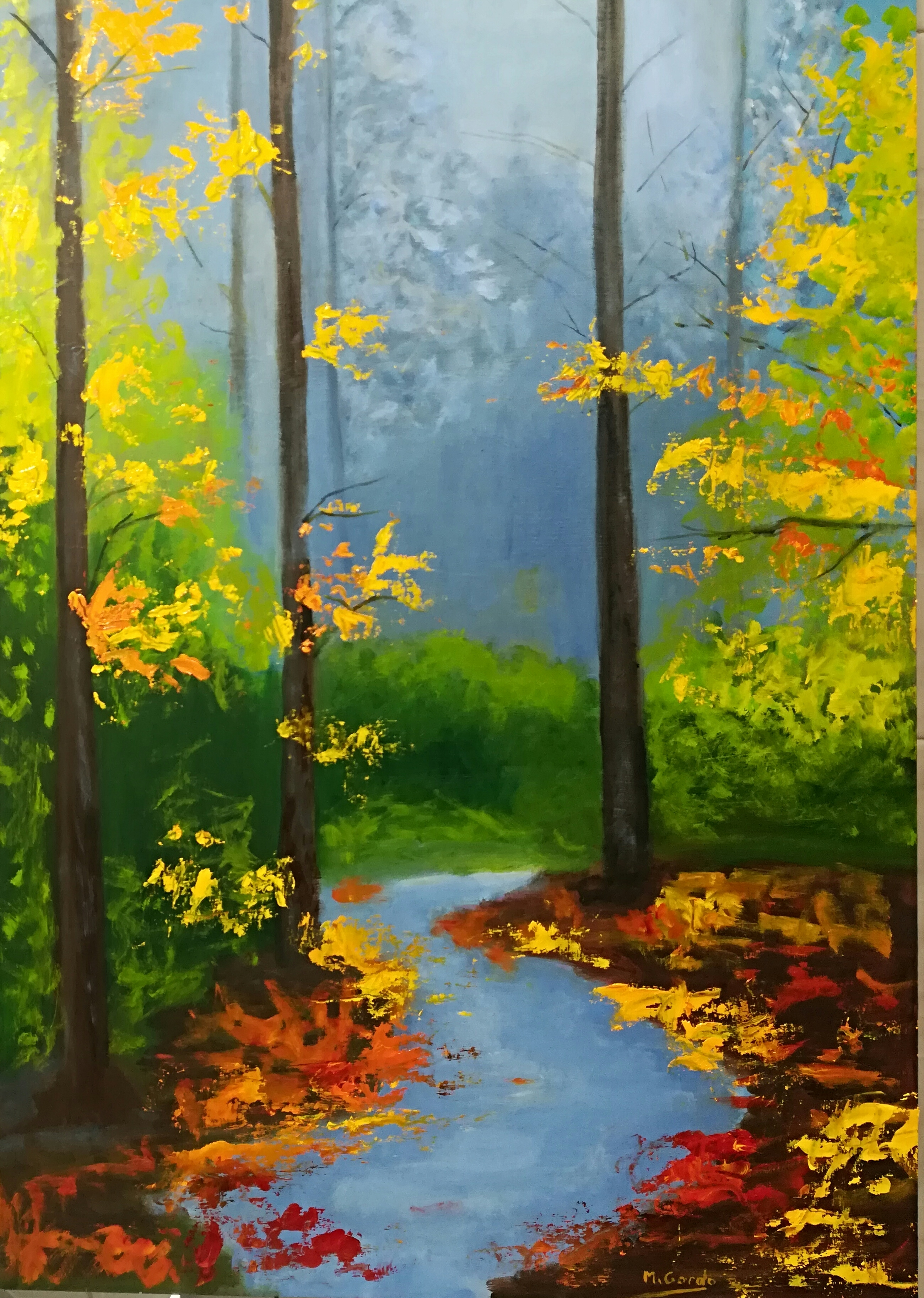 Profundidad en el bosque
