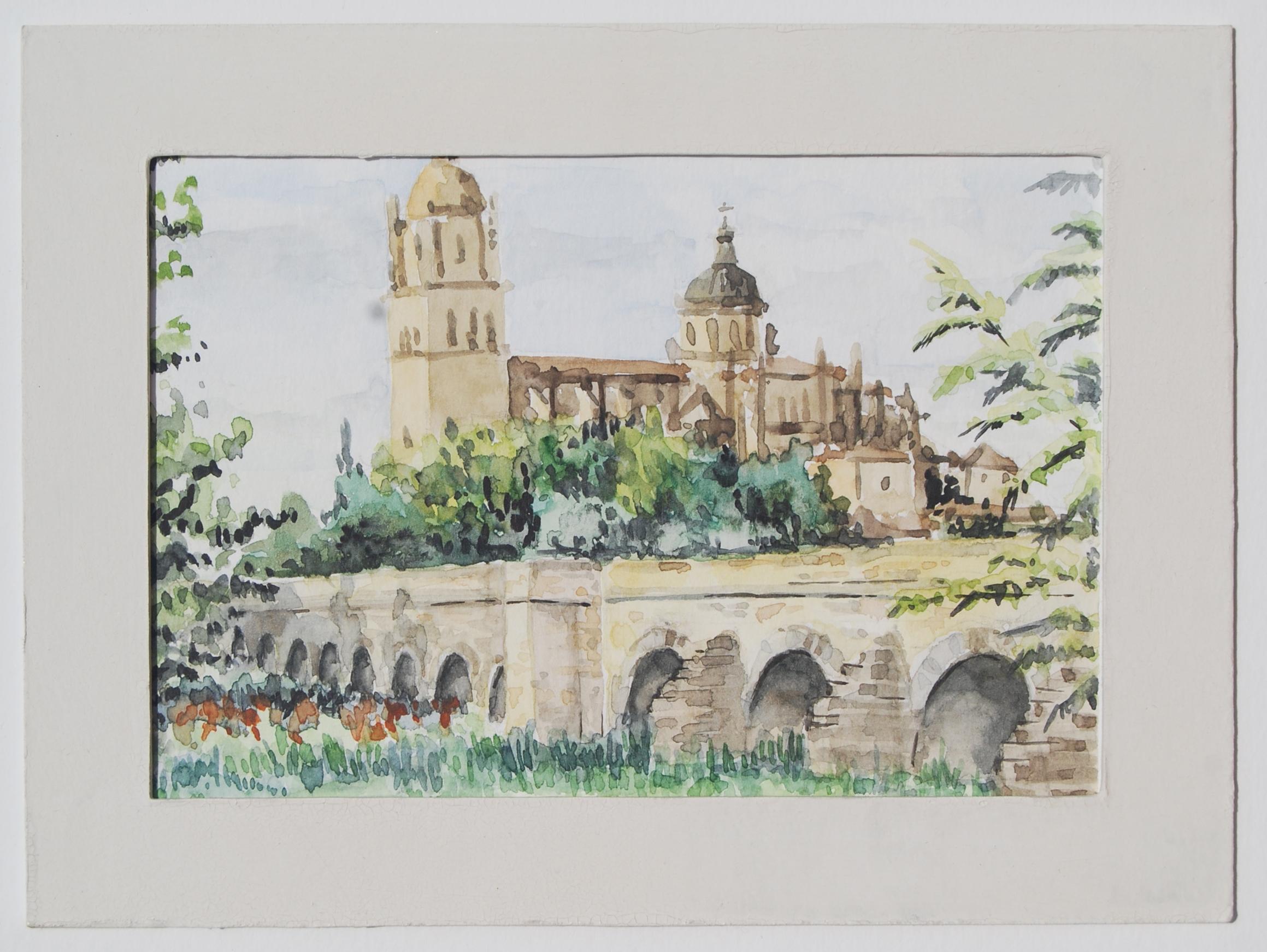 El puente romano de Salamanca
