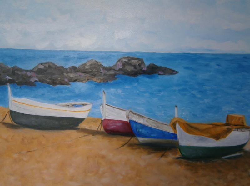 Barcas pesqueras