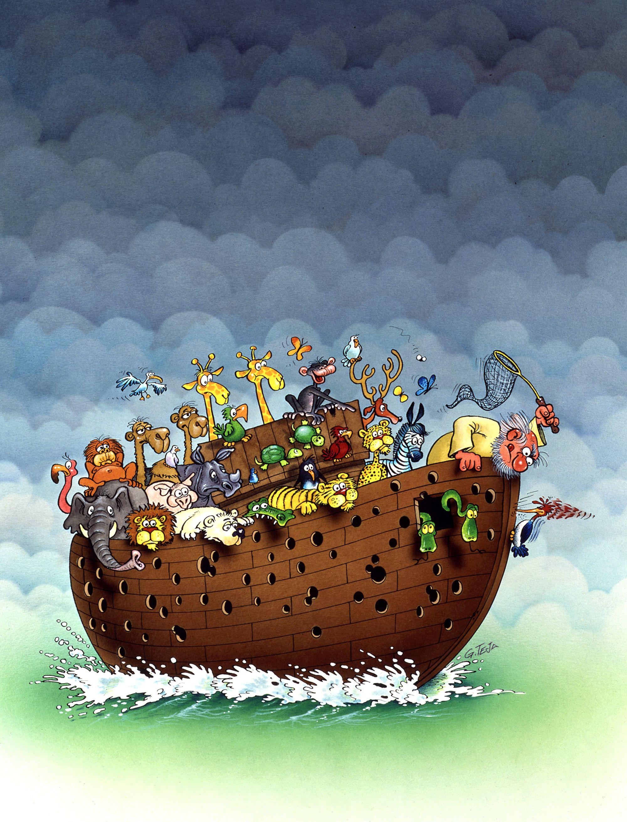 Noe y el pajaro