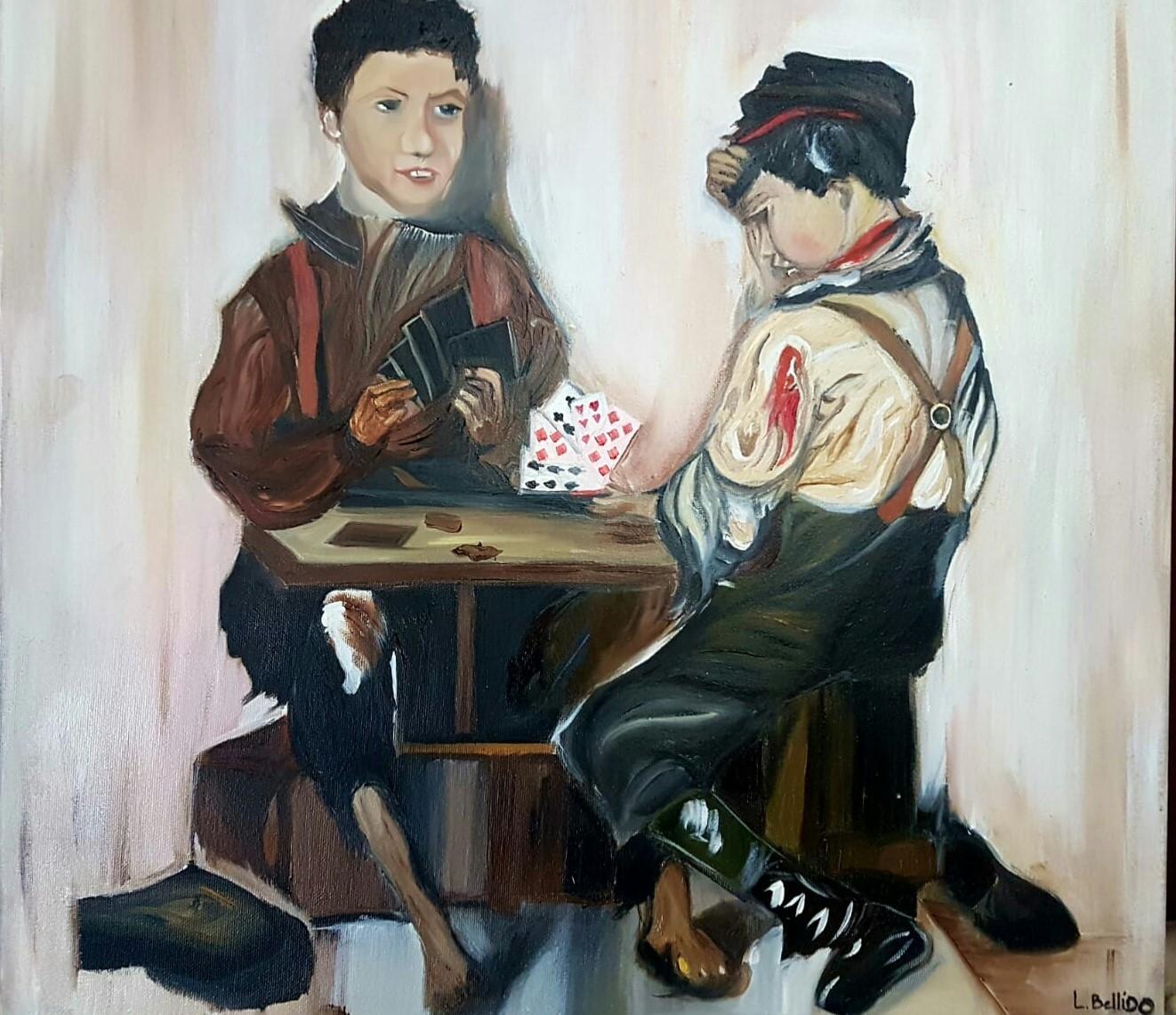 CHILDREN PLAYING NAIPES