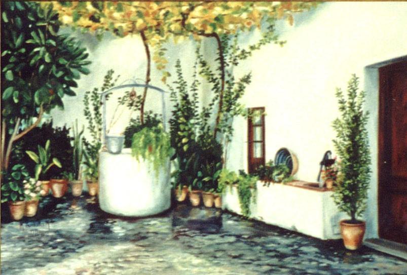 Patio de Fuentevaqueros