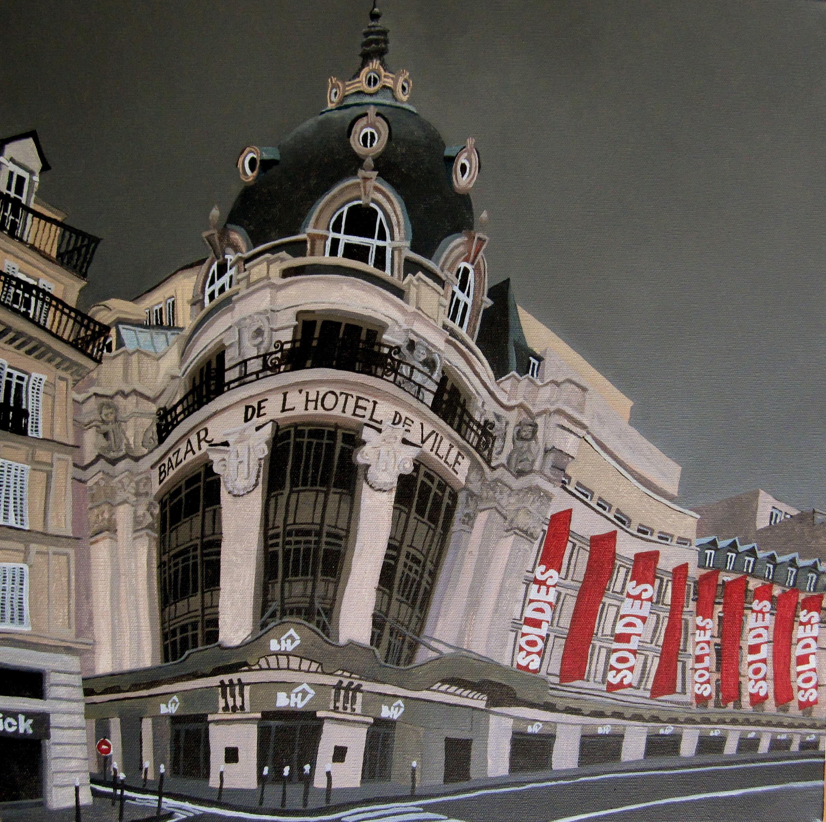 Paris, Bazar de'Hôtel de Ville.