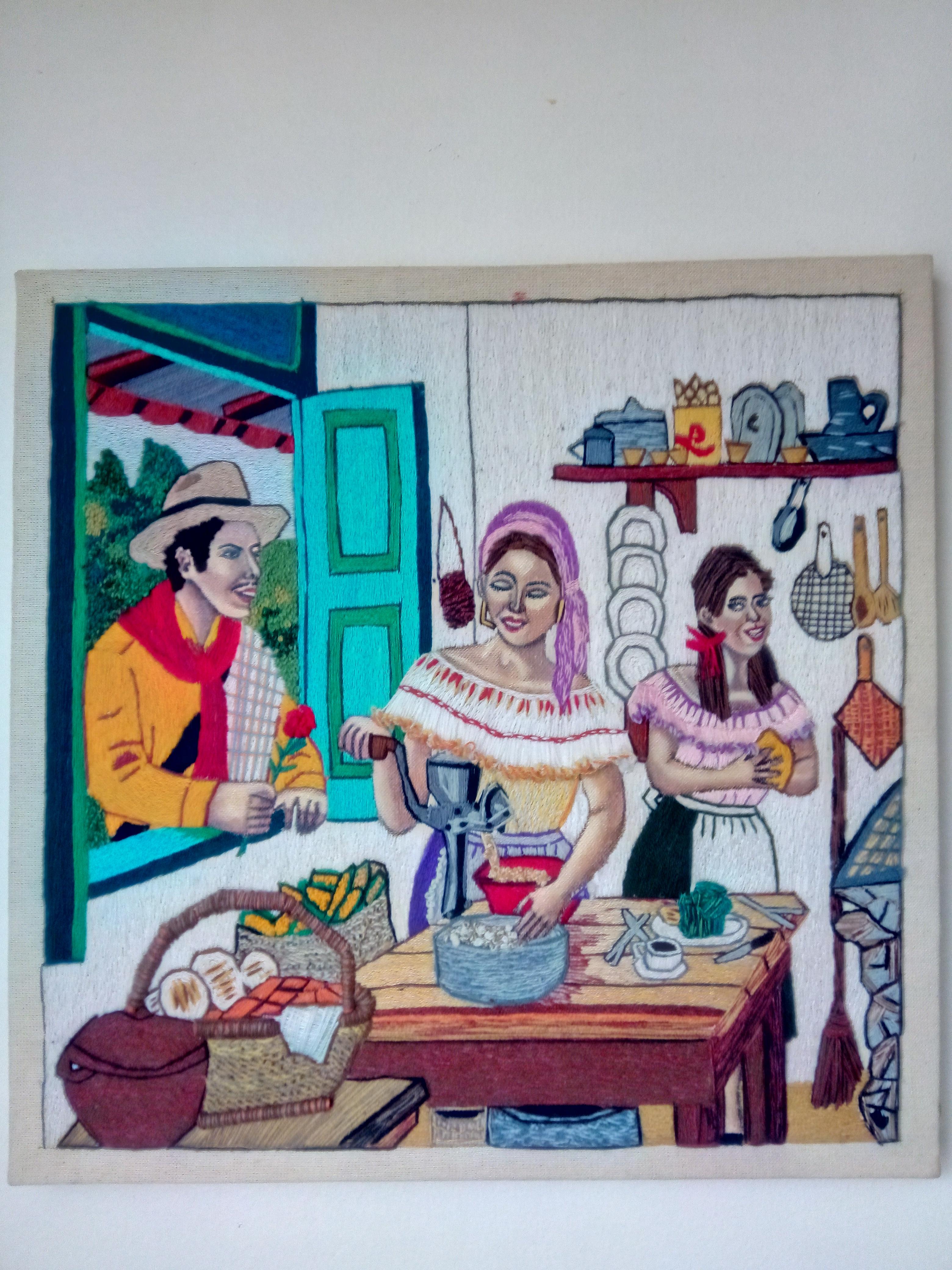 Peasant kitchen