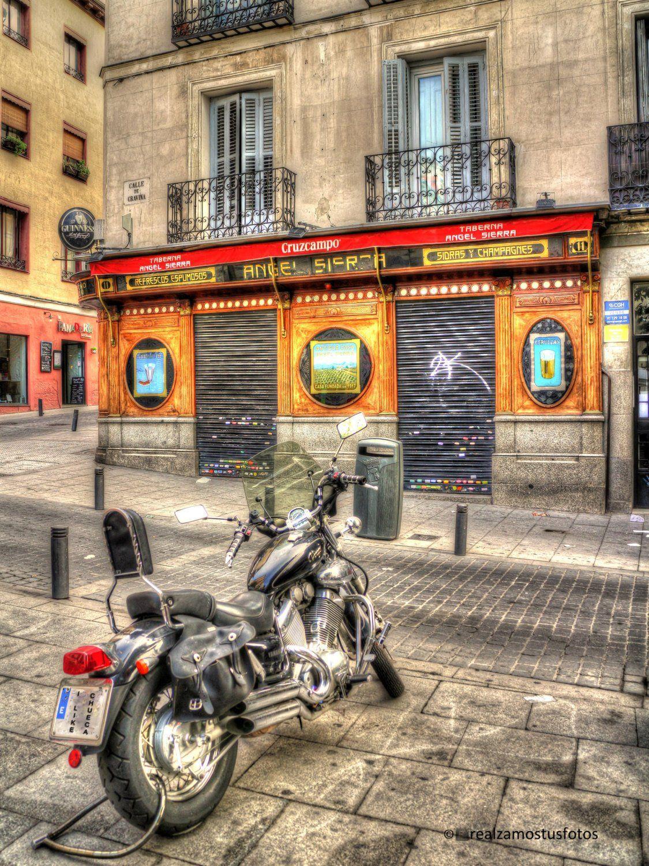 Photograph taken at the Angel Sierra Tavern in Madrid, Chueca.