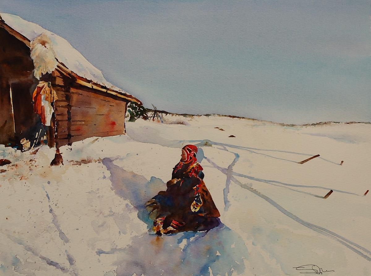 Sami. Finnmark, Noruega