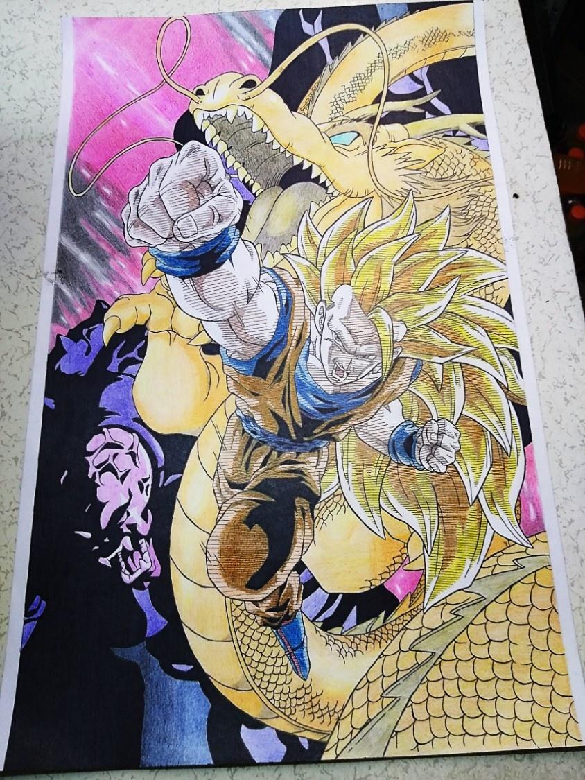 Dragon ball z Goku Fase 3