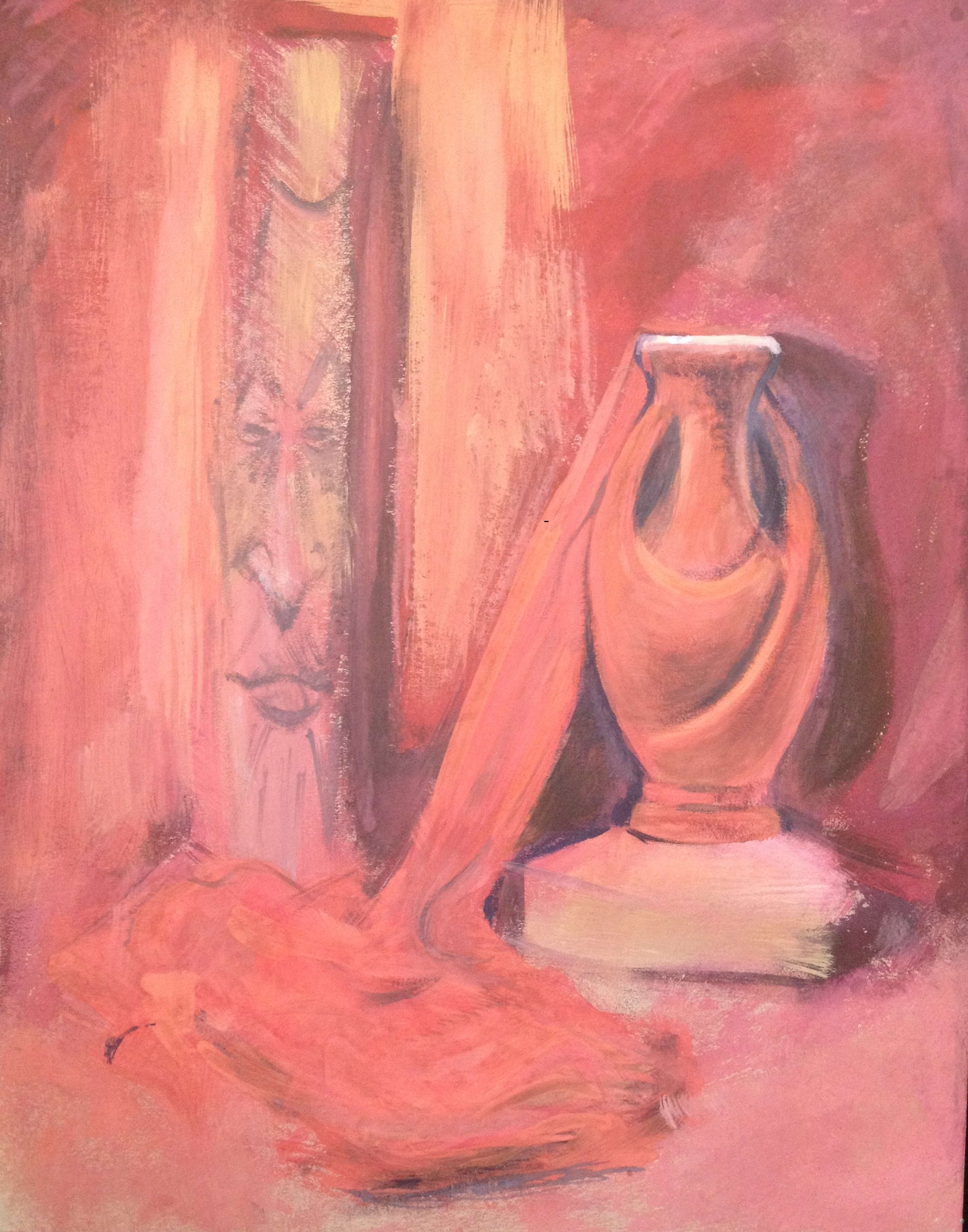 Still life in red tones