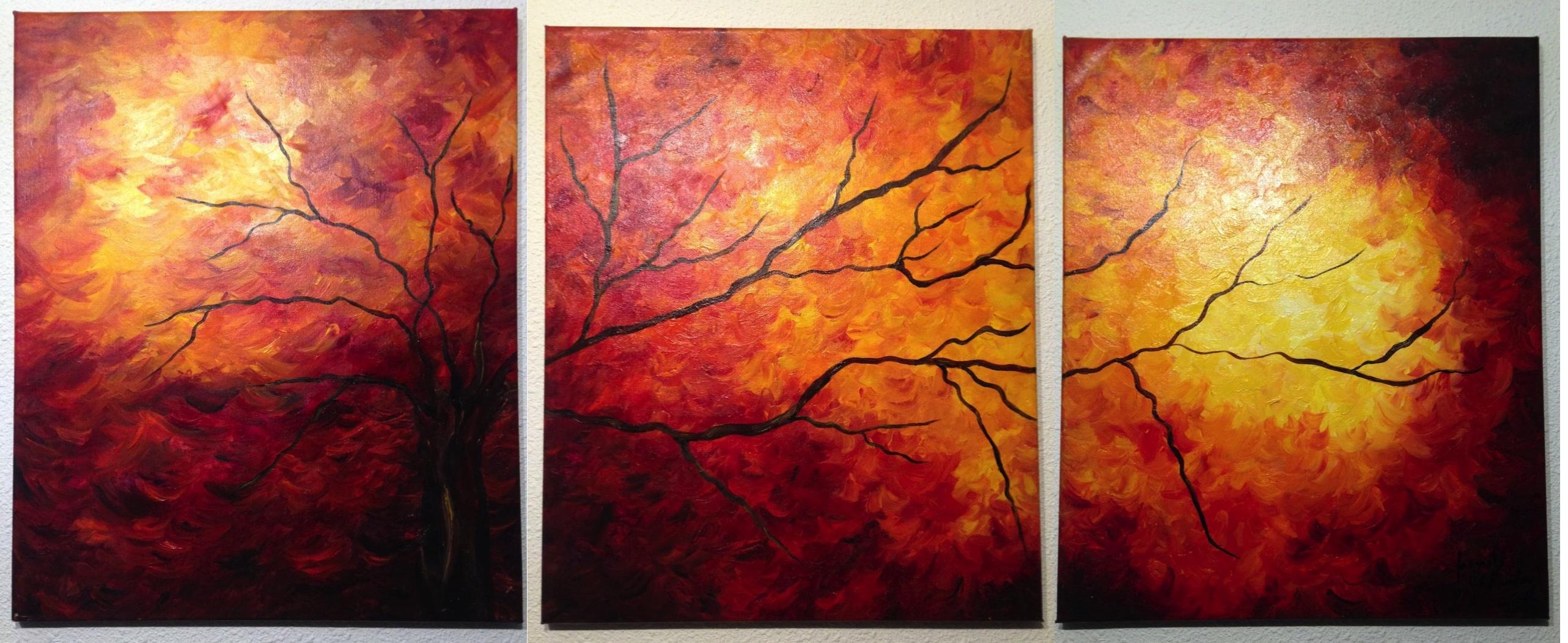 Fire Triptych