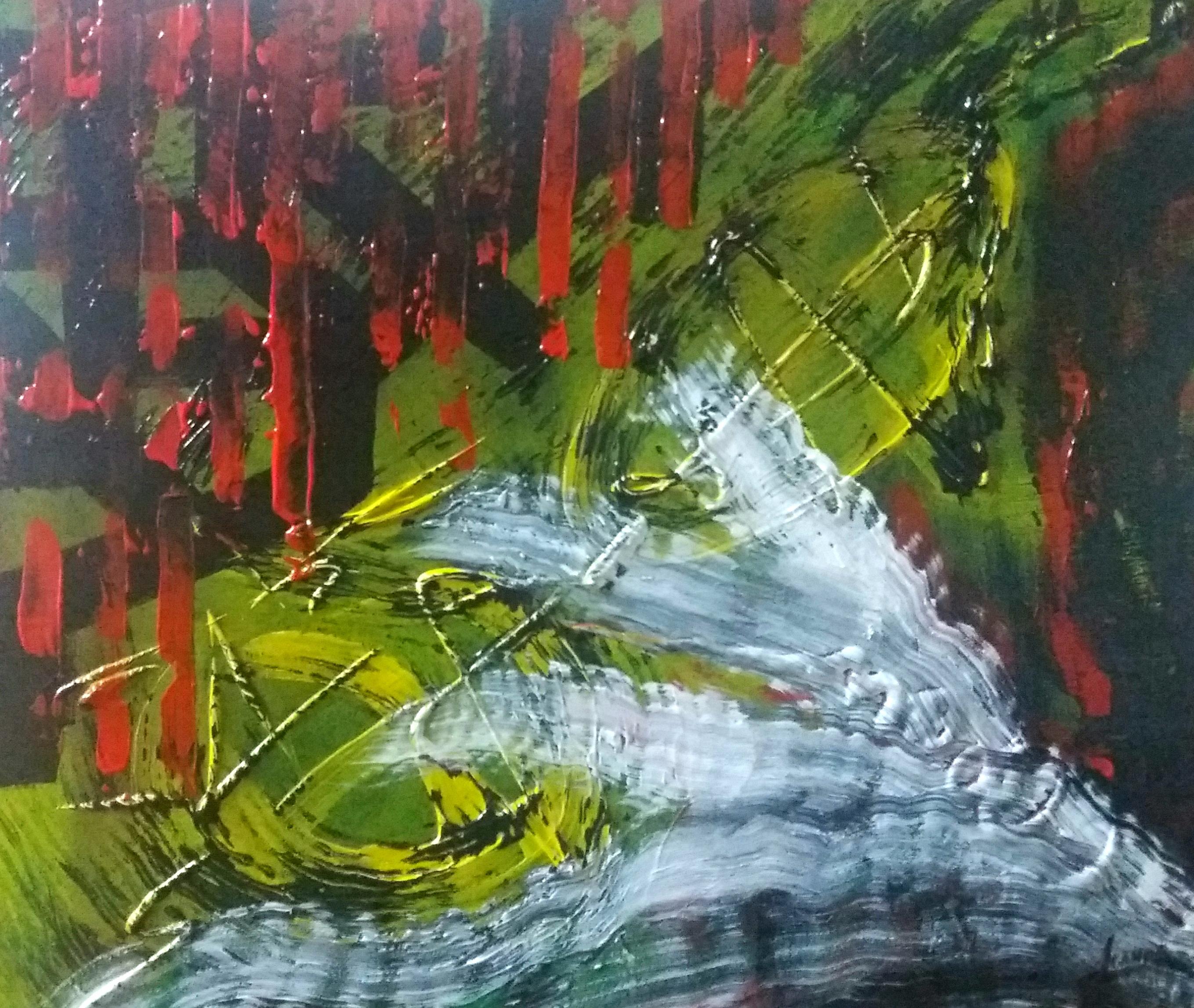 Otro cuadro abstracto.