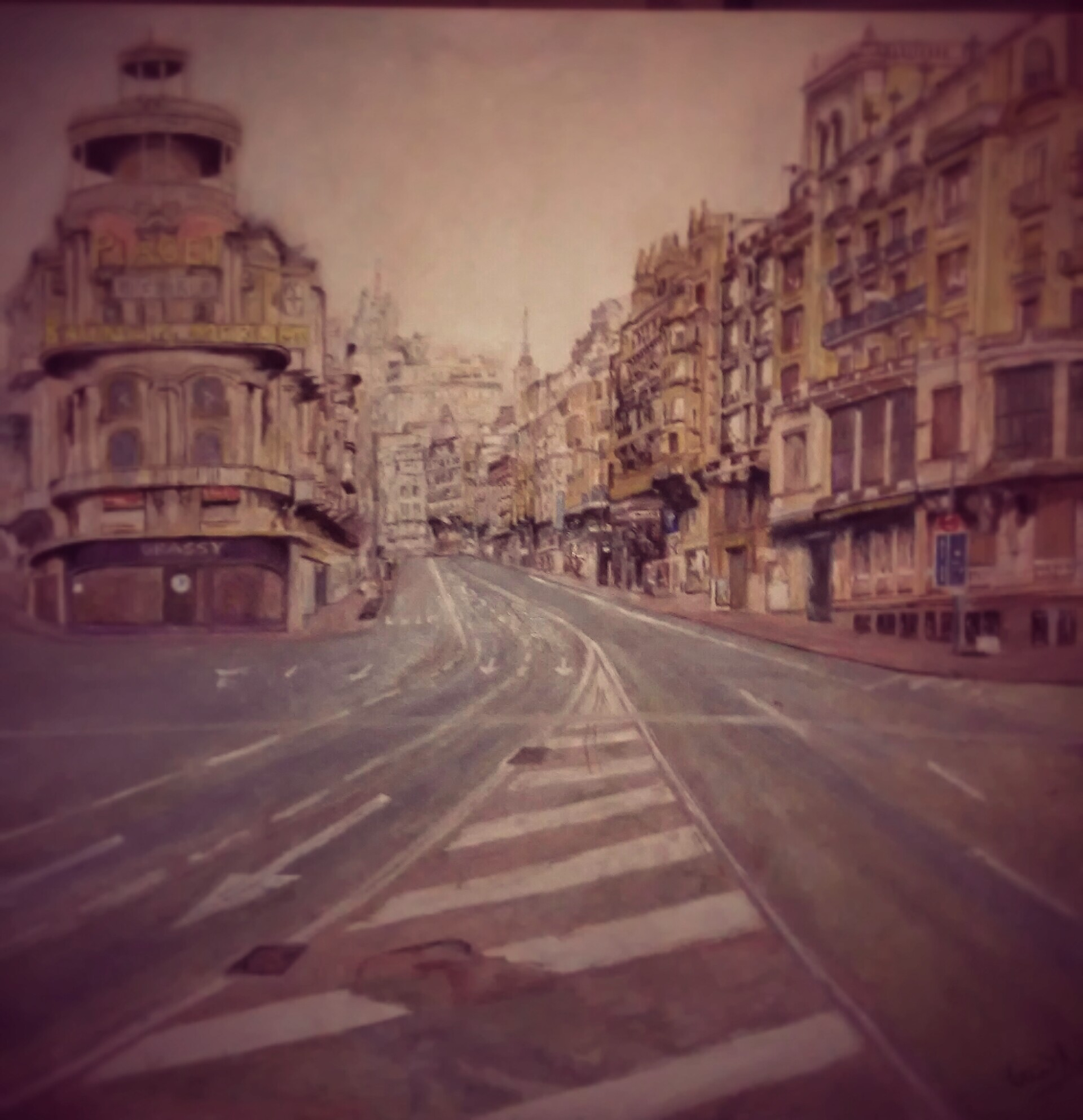 copia de gran via de antonio lopez