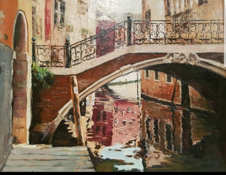 Canal de Venecia Puente