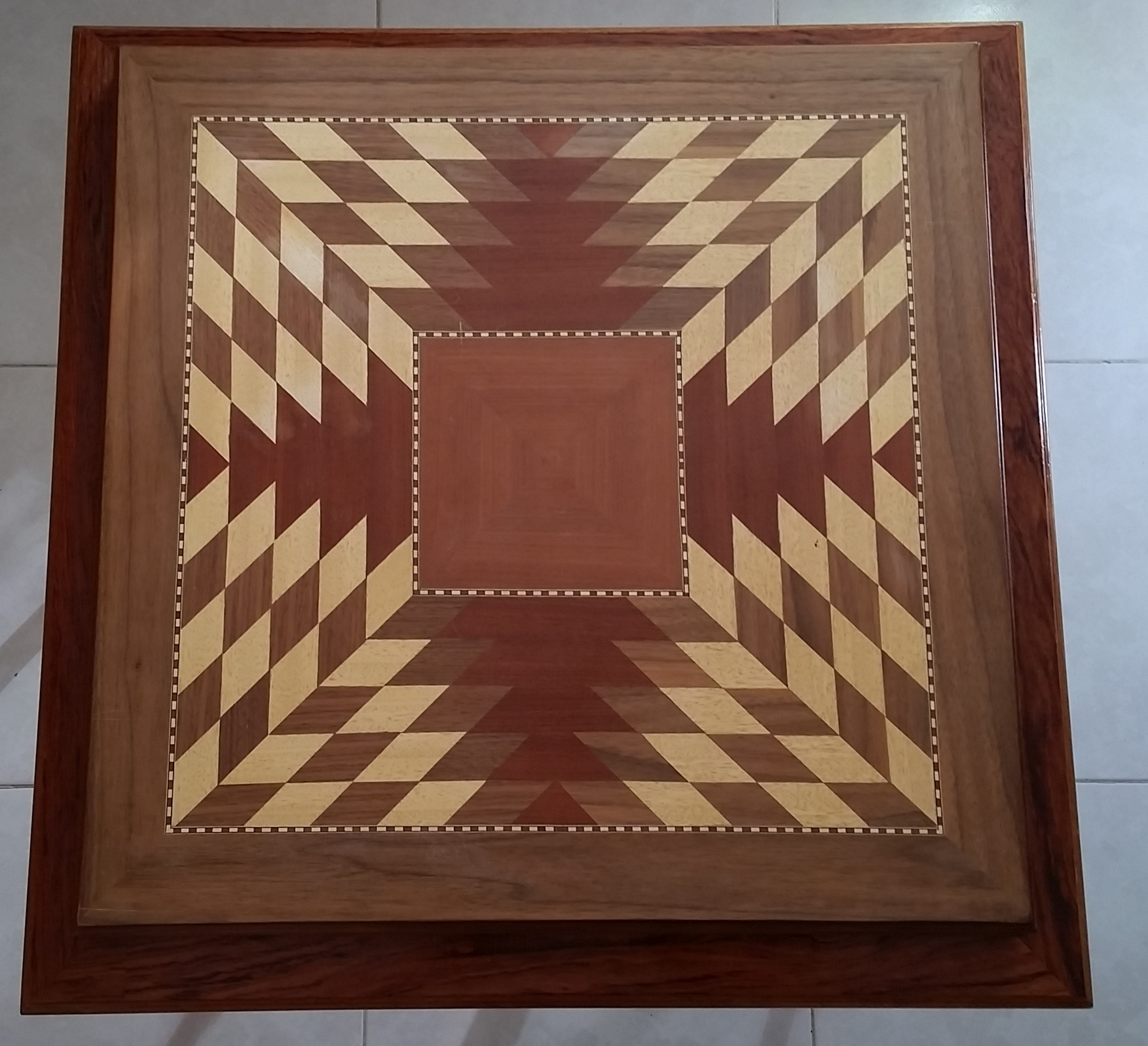 -model Marquetry table 3