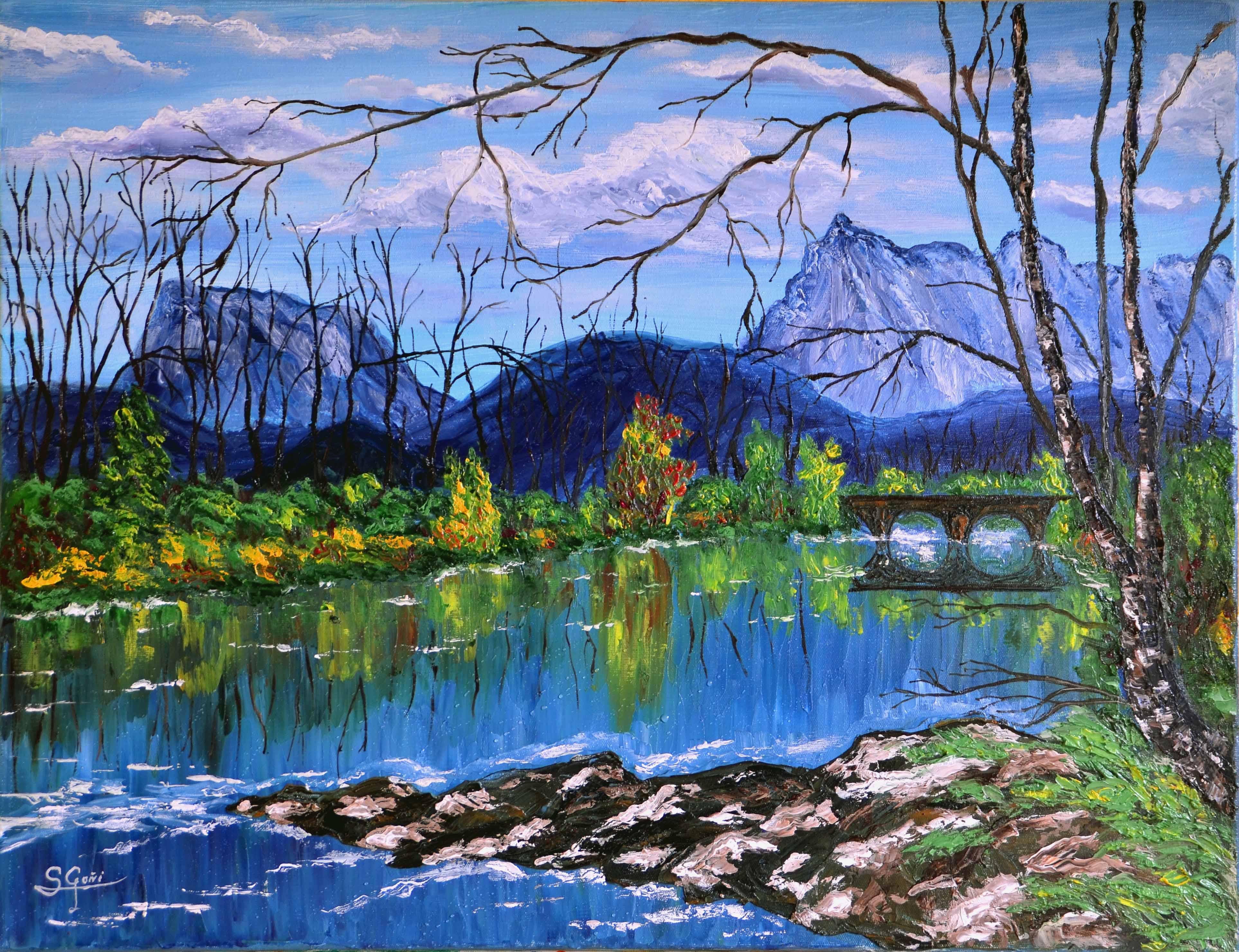 Rio Ason en Ramales de la Victoria