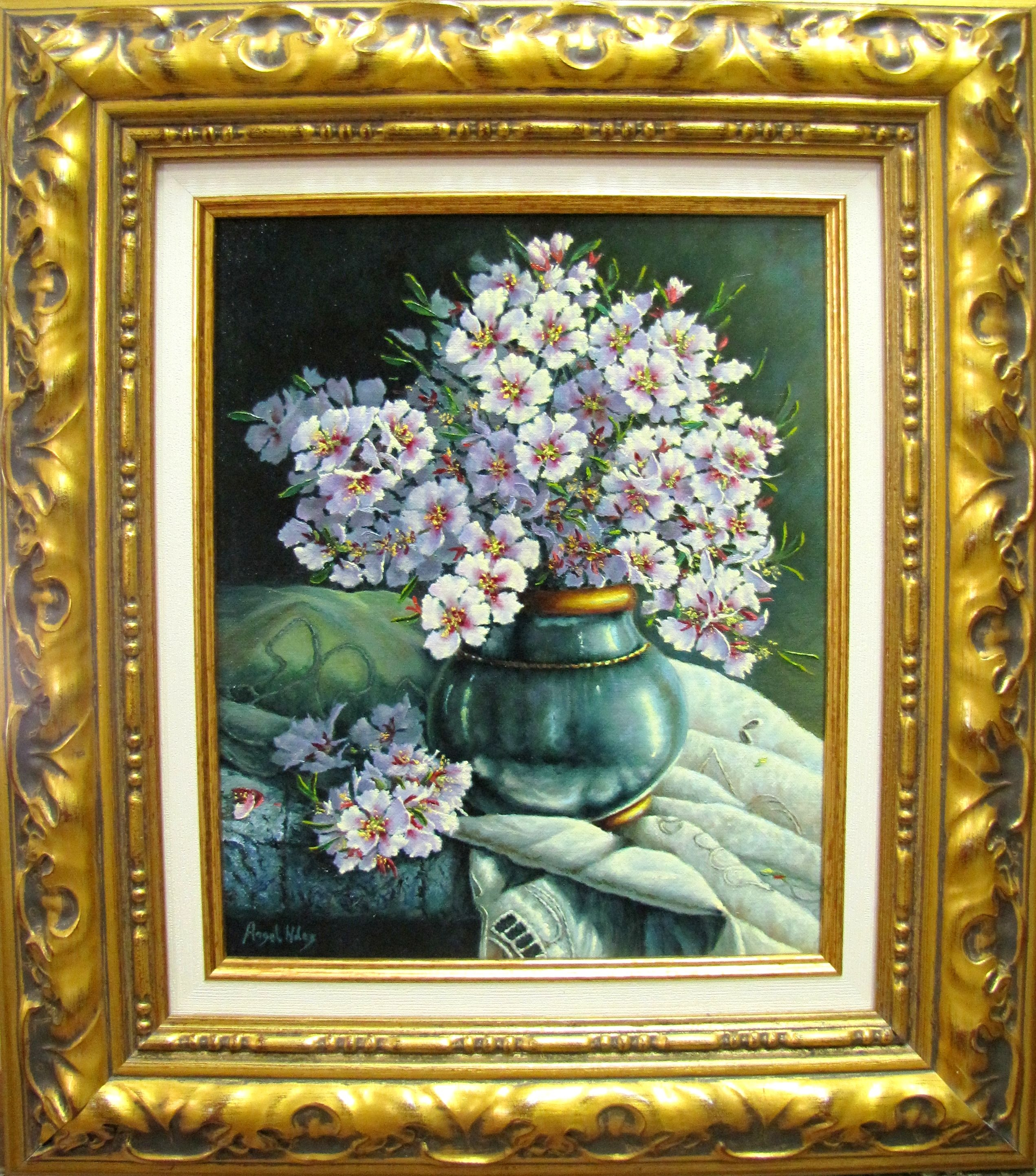 STILL LIFE WITH FLOWERS OF ALMOND