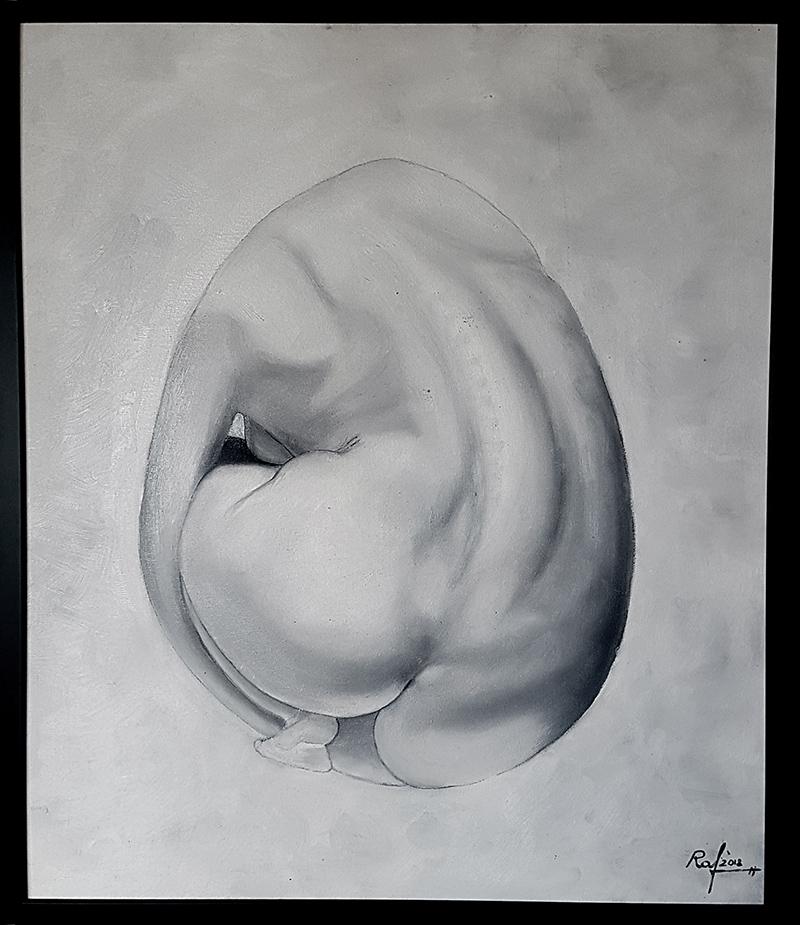 Desnudo oval 1