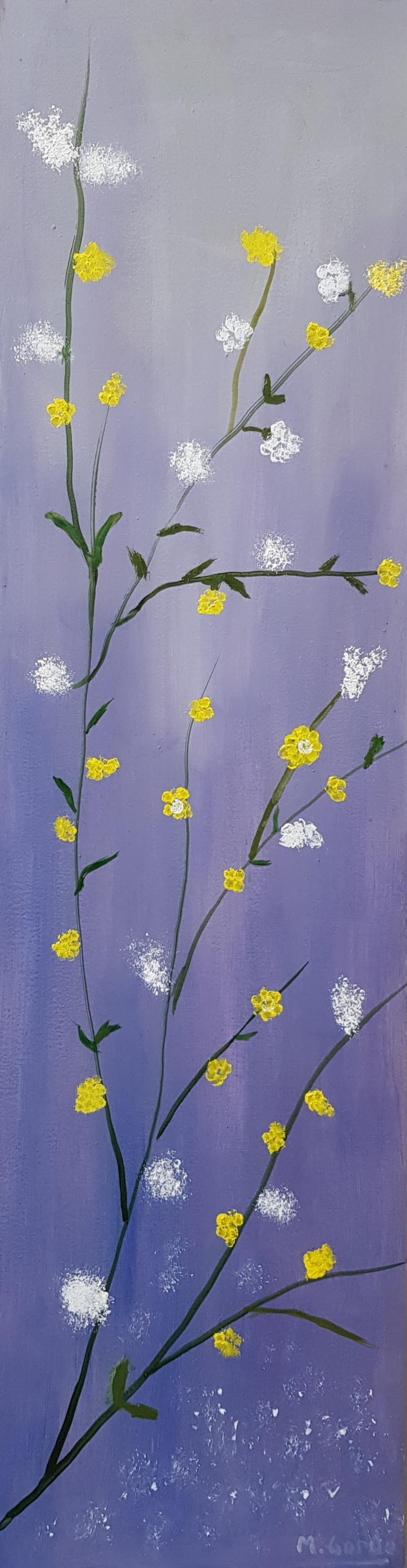 Flores. 7 amarillas