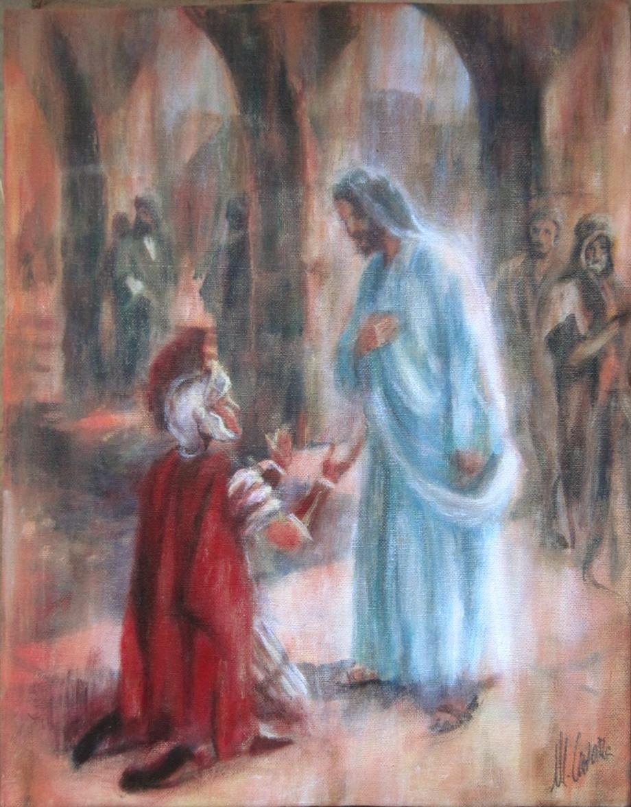 Jesús y el Centurión. Parábola del Centurión