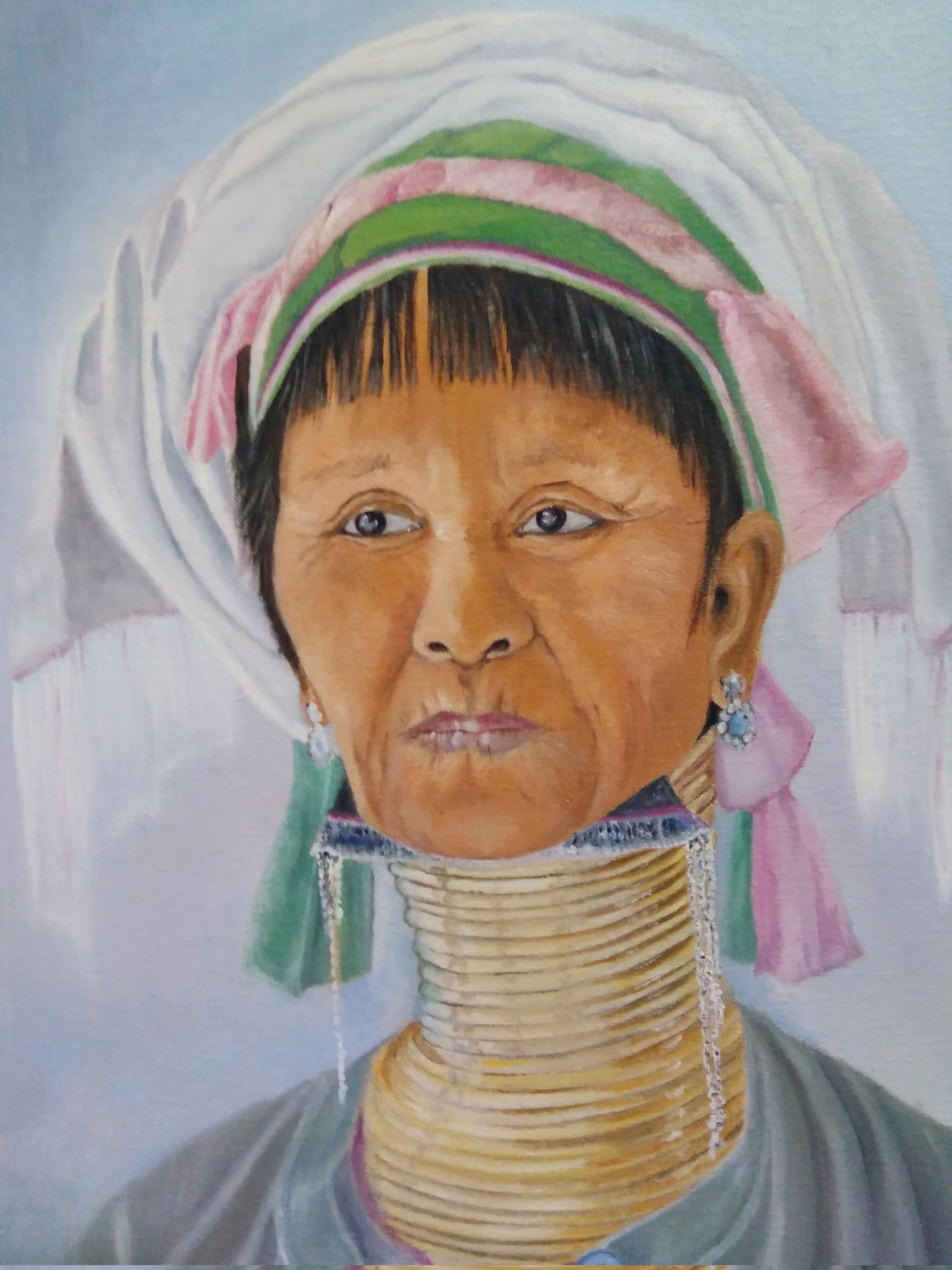 Mujer Jirafa