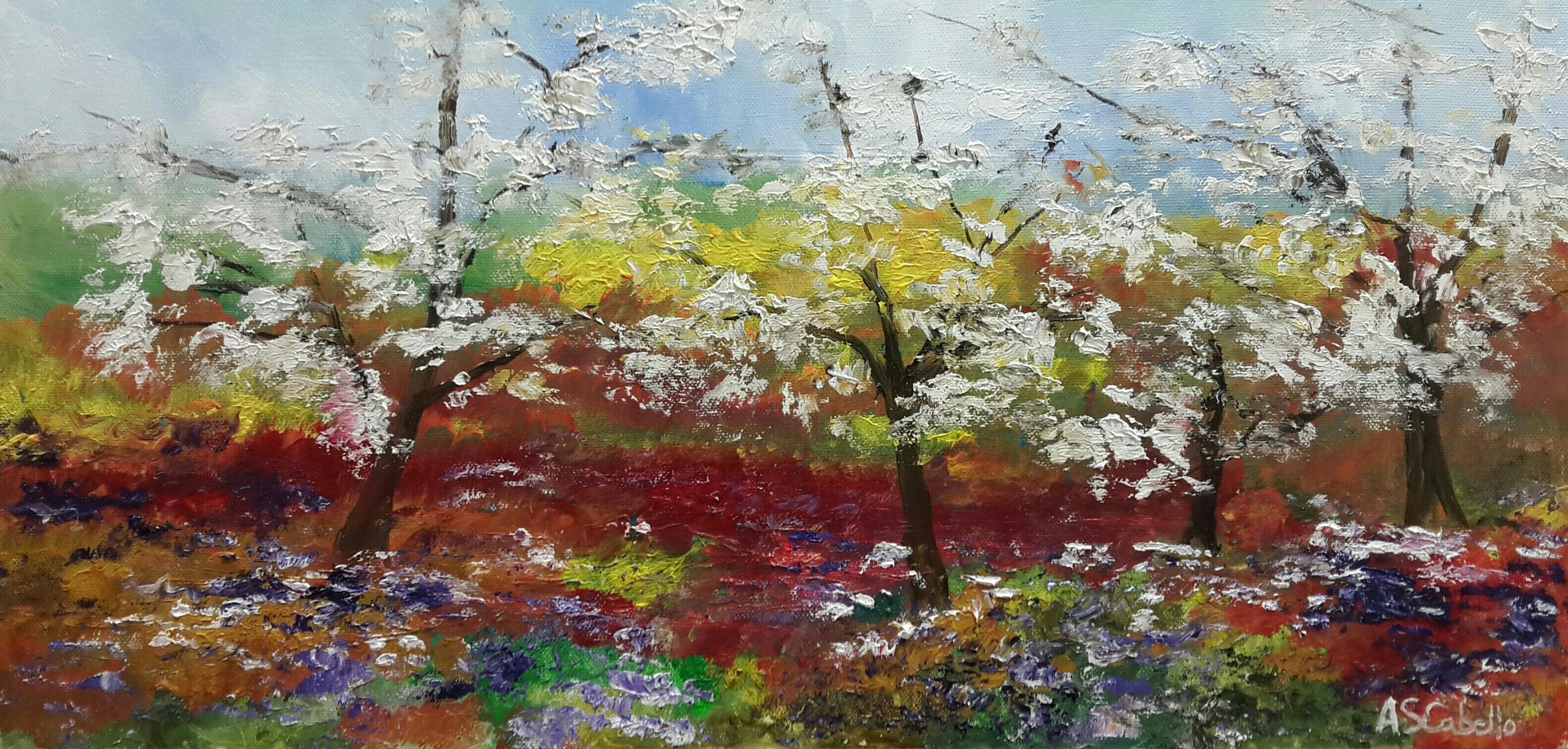 Flores y almendros