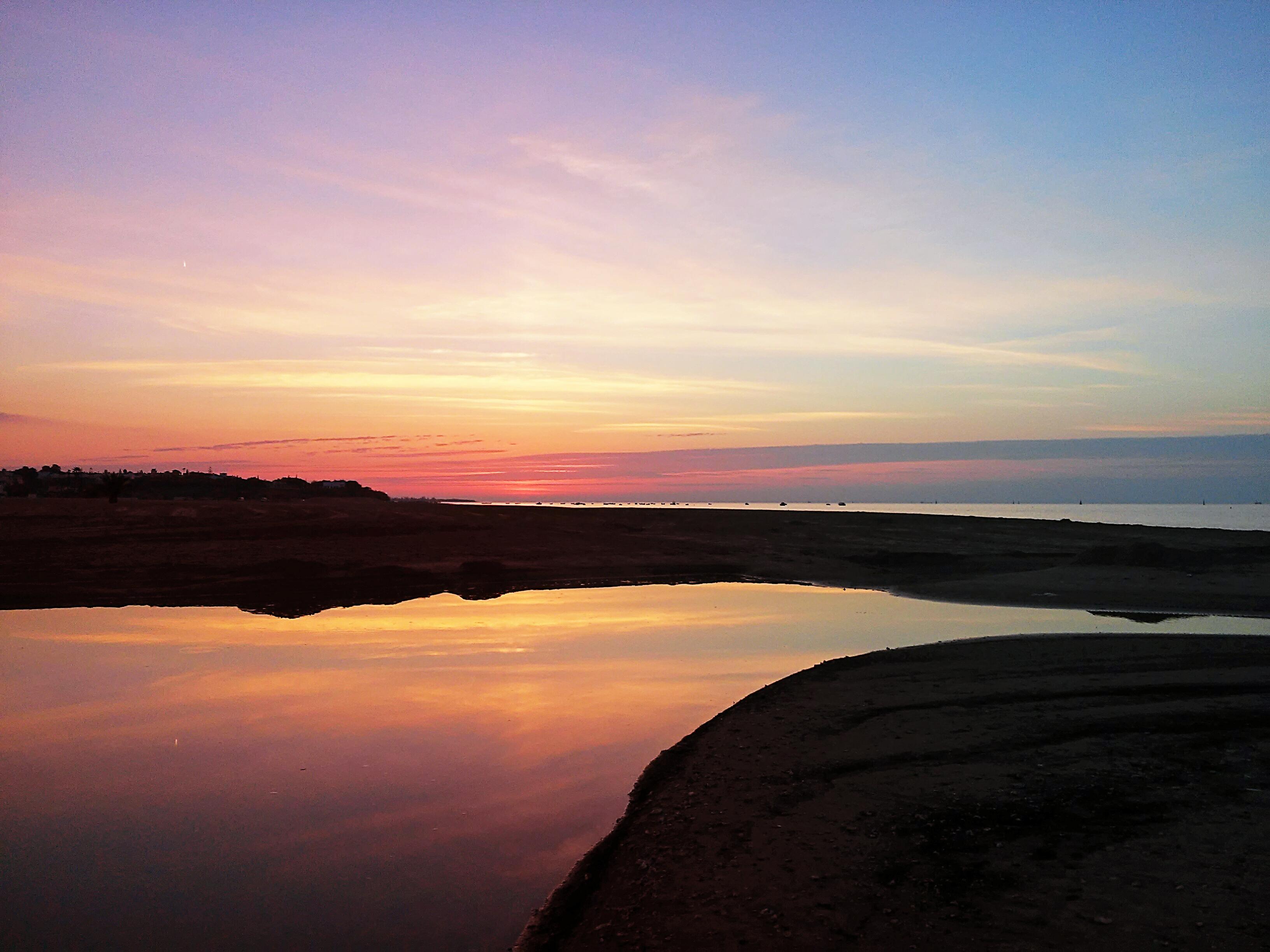 Minimal sunset