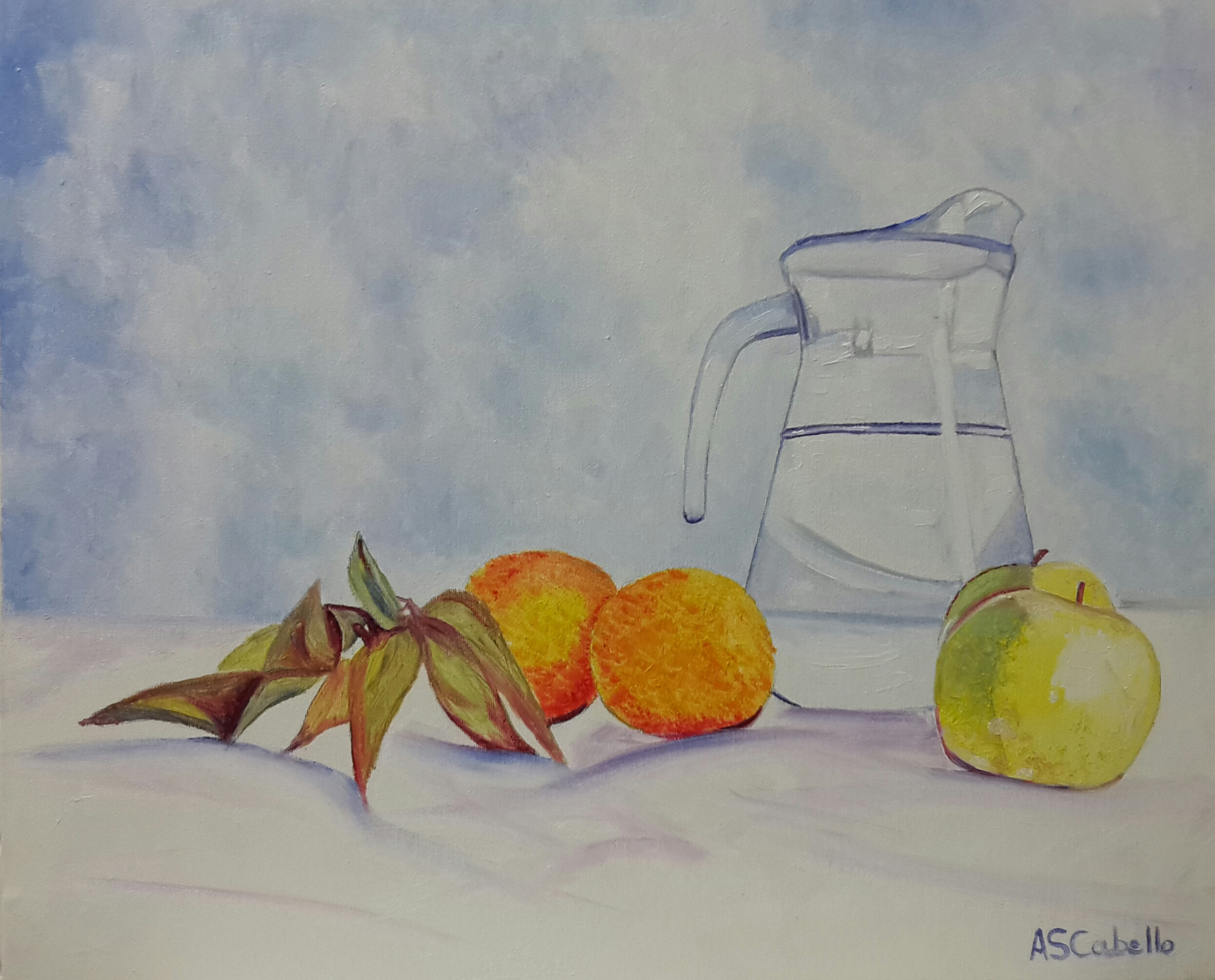Agua y frutas