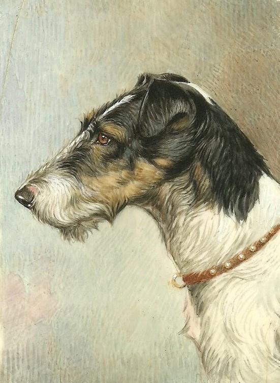 Elio Dog - Miniature Portraiture. (1939)